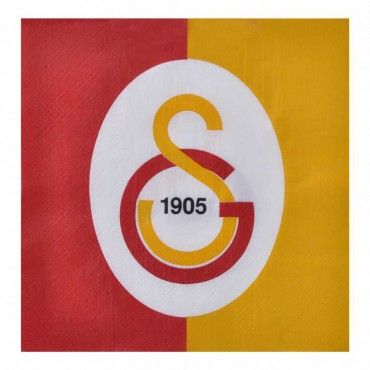 Galatasaray Kağıt Peçete 33x33 cm 20\'li