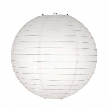 Beyaz Kağıt Fener 30 cm