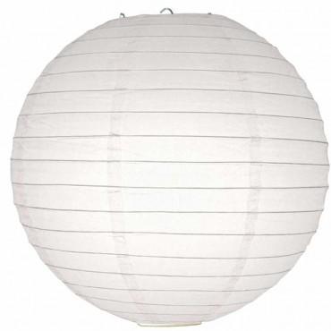 Beyaz Kağıt Fener 40 cm