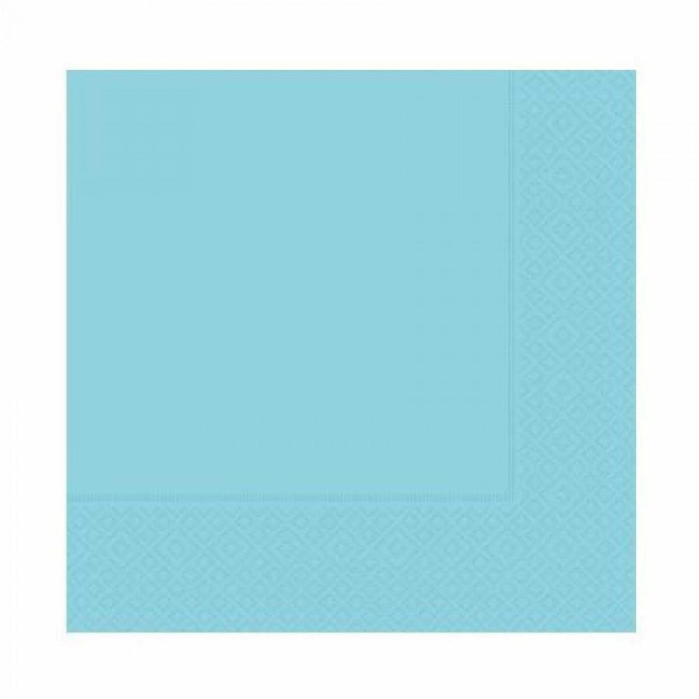 Açık Mavi Kağıt Peçete 33x33 cm 20\'li