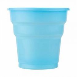 Açık Mavi Plastik Meşrubat Bardağı 10\'lu