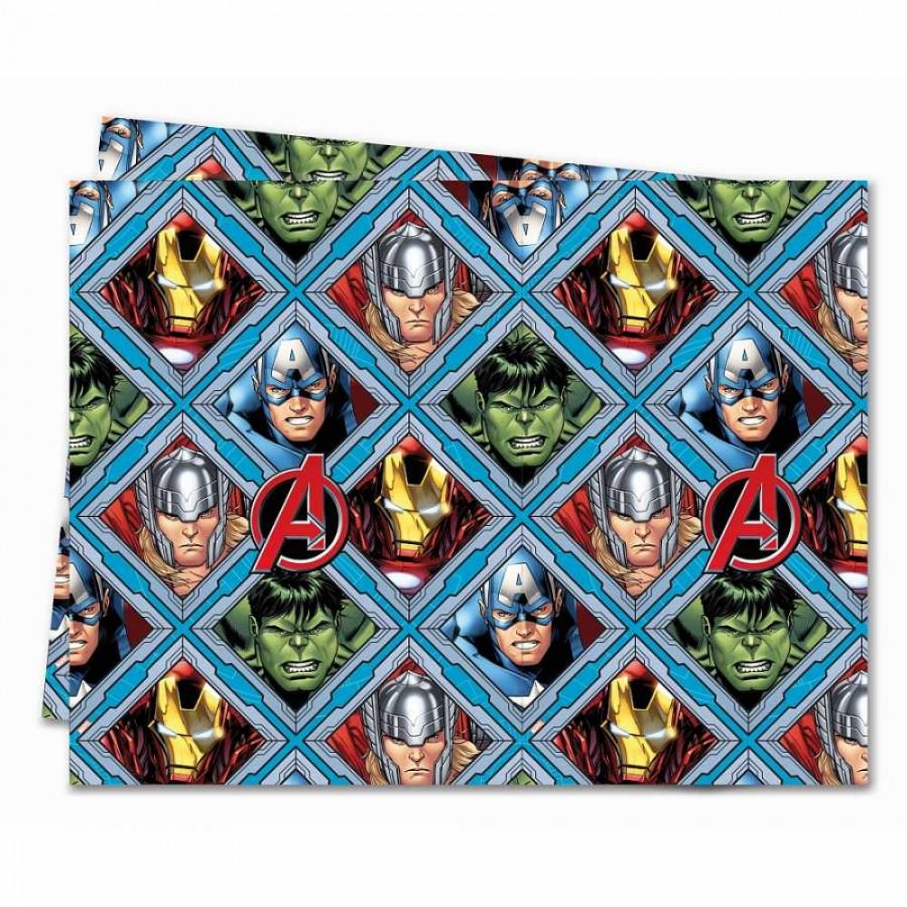 Avengers Plastik Masa Örtüsü 120x180 cm