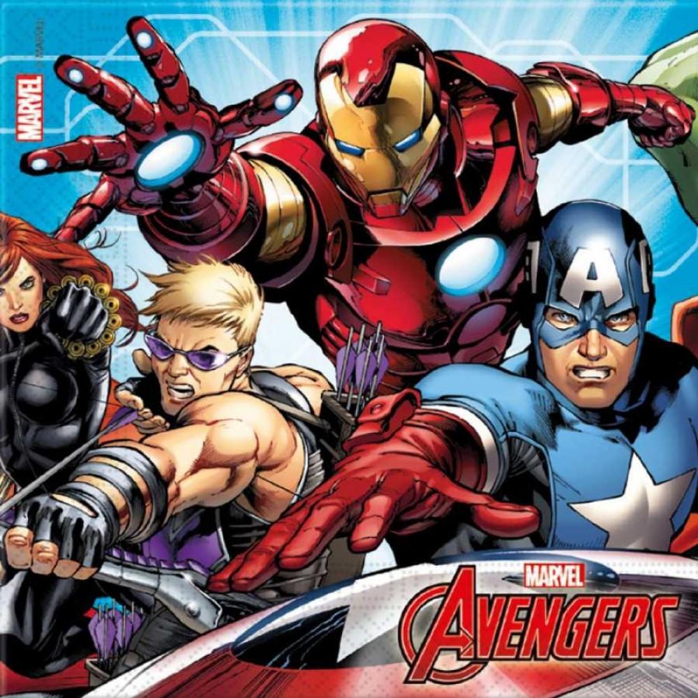 Avengers Kağıt Peçete 33x33 cm 20\'li