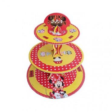 Minnie Lisanslı Cupcake Standı
