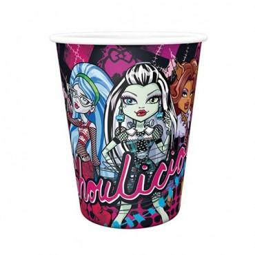 Monster High Karton Bardak 8\'li