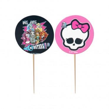 Monster High Lisanslı Kürdan 10\'lu