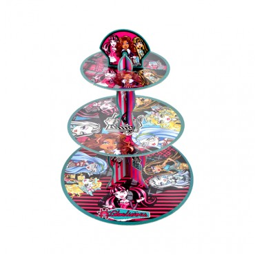 Monster High Lisanslı Cupcake Standı
