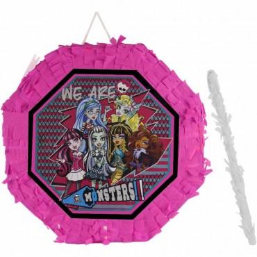 Monster High Lisanslı Pinyata