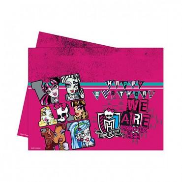 Monster High Plastik Masa Örtüsü 120x180 cm