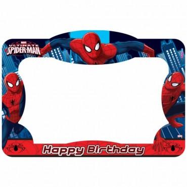 Spiderman Lisanslı Fotoğraf Çekme Çerçevesi